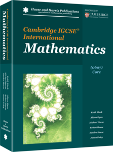 Cambridge IGCSE International Mathematics (0607) Core