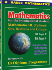 Mathematics HL (Option): Sets, Relations and Groups