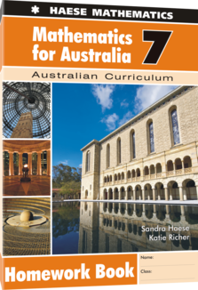 Mathematics for Australia 7 Homework Book