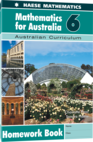 Mathematics for Australia 6 Homework Book