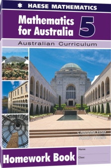 Mathematics for Australia 5 Homework Book