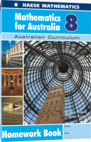 Mathematics for Australia 8 Homework Book
