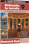 Mathematics for Australia 9 Homework Book