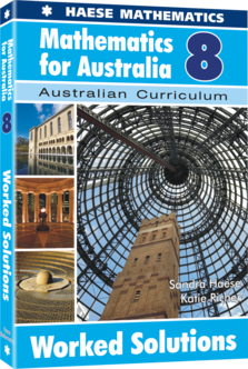 Mathematics for Australia 8 Worked Solutions