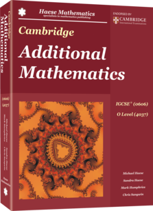 Cambridge Additional Mathematics IGCSE® (0606) O Level (4037)