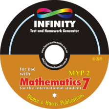 INFINITY Question Database - Mathematics for the International Student 7 (MYP 2) (1st edition)
