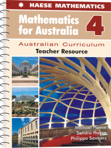 Mathematics for Australia 4 Teacher Resource