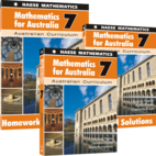 Mathematics for Australia Year 7 Bundle