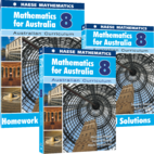Mathematics for Australia Year 8 Bundle