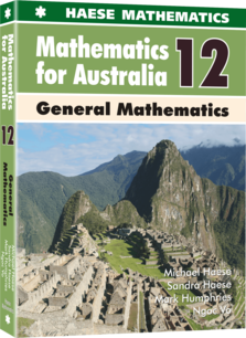 Mathematics for Australia 12 General Mathematics
