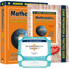 Mathematical Studies SL Bundle 3 - SMARTPREP Flash Cards, Studies SL 3rd edition textbook & Studies SL Exam Preparation and Practice Guide 3rd edition