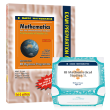 Mathematical Studies SL Bundle 1 - SMARTPREP Cards & Studies SL Exam Preparation and Practice Guide 3rd edition