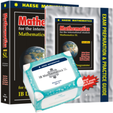 SL Mathematics Bundle 3 - SmartPrep Cards, SL 3rd edition textbook, & SL Exam Preparation and Practice Guide 3rd edition