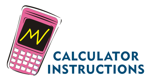 Icon calculator instructions