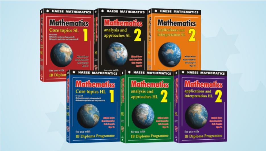 Textbooks for the 2019 IB Diploma – Haese Mathematics