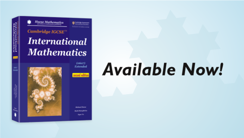 Cambridge IGCSE International Mathematics (0607) Extended (2nd