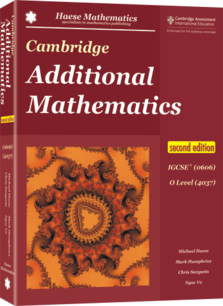 Cambridge Additional Mathematics IGCSE® (0606) O Level (4037