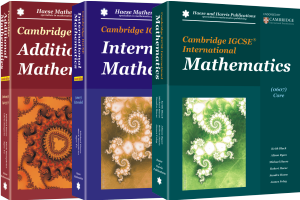 Cambridge Assessment International Education – Haese Mathematics