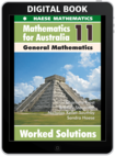 Mathematics for Australia 11 General Mathematics WORKED SOLUTIONS